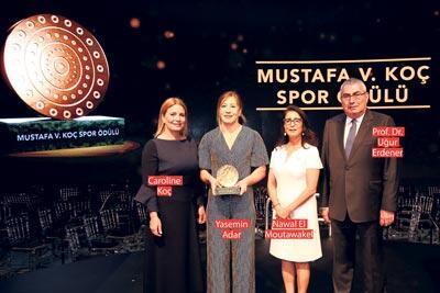 Mustafa Koç Ödülü ön yargıları tuş eden kadına
