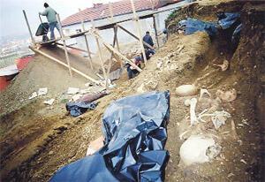 'AKP il binası Bektaşi mezarlığı üzerine inşa edildi' iddiası