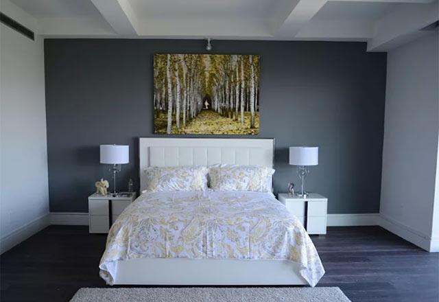 Duvarlarınızda koyu renk kullanımının püf noktaları