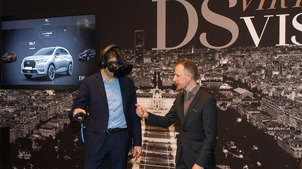 DS Automobiles, sanal gerçeklik deneyimi sunuyor