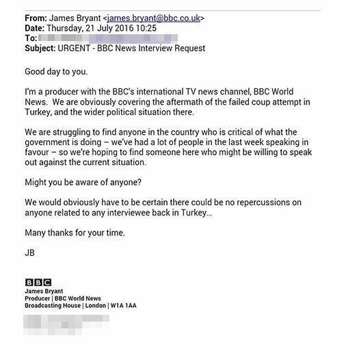 BBCden akılalmaz küstahlık