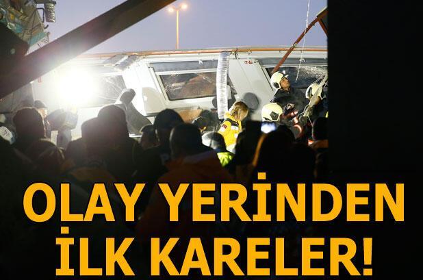 Son dakika: Bakan Turhan: Ankaradaki tren kazasında 9 vatandaşımız hayatını kaybetti