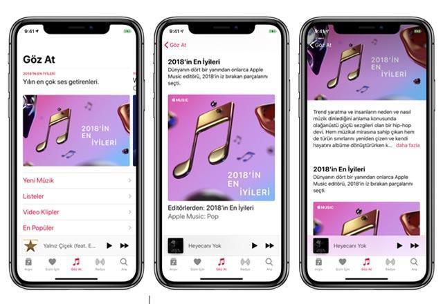 Apple, 2018in en iyilerini sunar