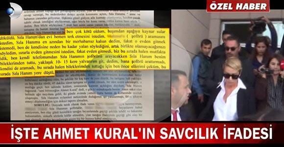 Kanal D Ana Haber Ahmet Kuralın ifadesine ulaştı Sıla ile aralarında ne geçti