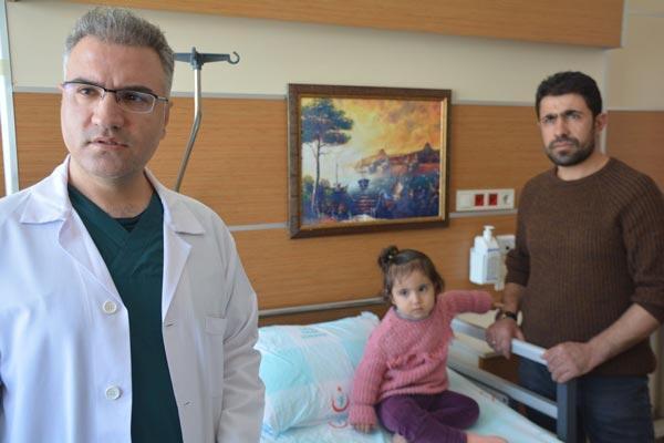 Ameliyat edilen çocuğun burnundan çıktı Şoke olacaksınız