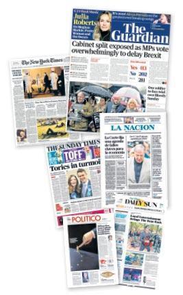 En iyi tasarıma sahip on gazete