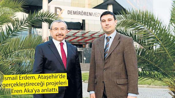 Ataşehir'in kalbinde  'Millet Bahçesi' doğuyor