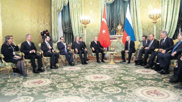 Cumhurbaşkanı Erdoğan'dan Rusya'da Suriye mesajı: Terörü söküp atmakta kararlıyız