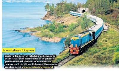 Sıra dışı bir tatil: Tren turları