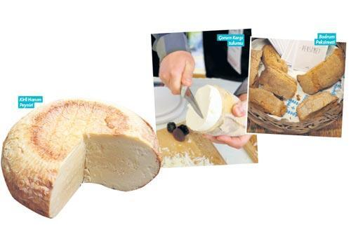 Bodrum'da  peynir geçidi