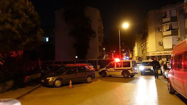 İzmirde NATO lojmanlarına silahlı saldırı