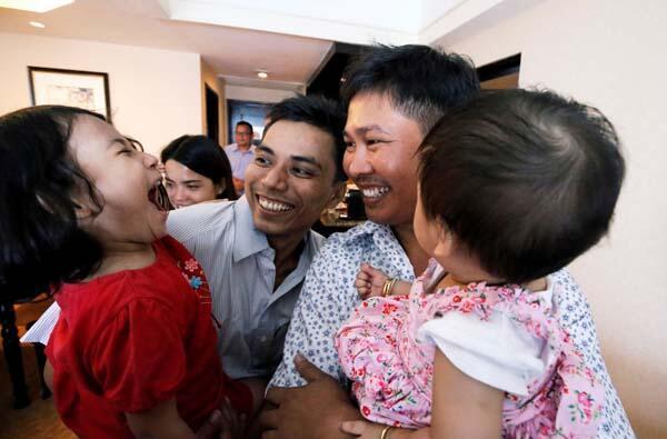Dünya onları konuşuyor Mutlulukları böyle görüntülendi