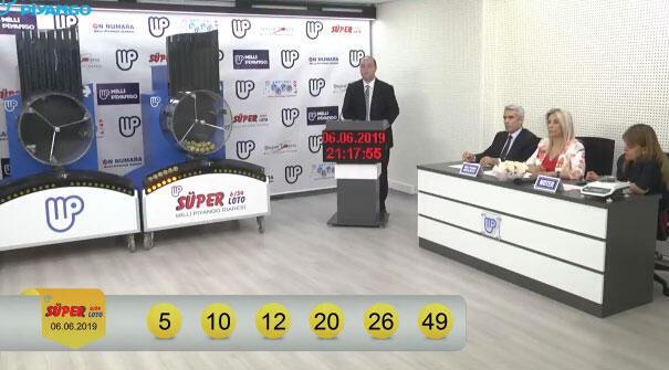 Süper Loto çekiliş sonuçları belli oldu (6 Haziran MPİ Süper Loto sonuç sorgulama ekranı)