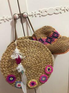 Hasır Supladan Çanta Yapımı