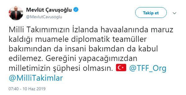 İzlandada büyük skandal Türkiyeden sert tepki...