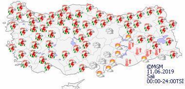 Meteorolojiden sağanak uyarısı İstanbulda hava bugün nasıl olacak