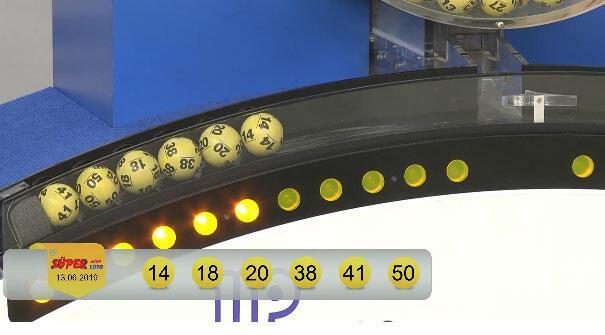 Süper Loto çekiliş sonuçları belli oldu (13 Haziran MPİ Süper Loto sonuç sorgulama ekranı)