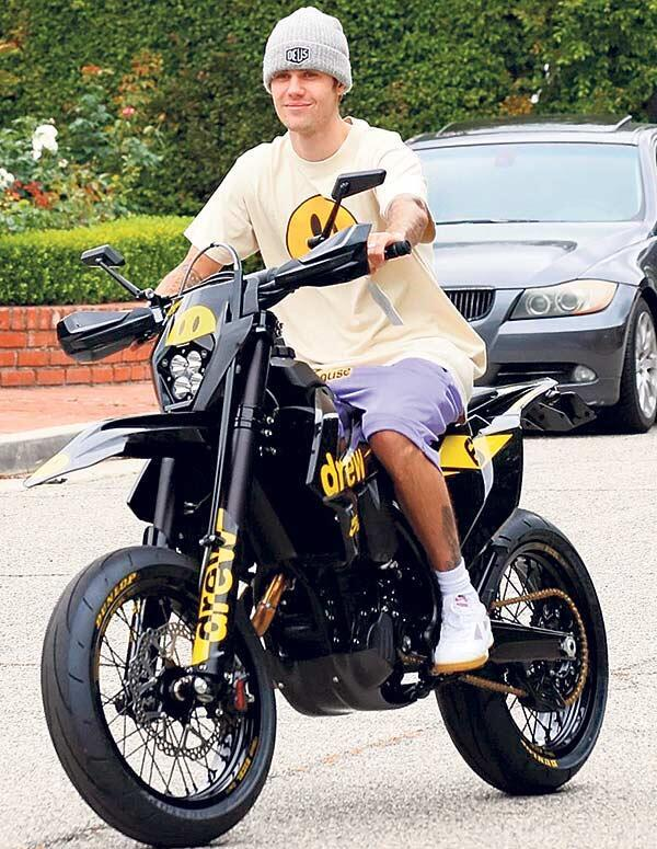 Çİft teker Bieber