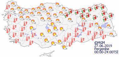 Meteorolojiden Marmara için sağanak uyarısı İstanbulda hava bugün nasıl olacak