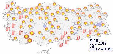 Hava durumu bugün nasıl olacak İstanbulda hava bugün kaç derecek olacak