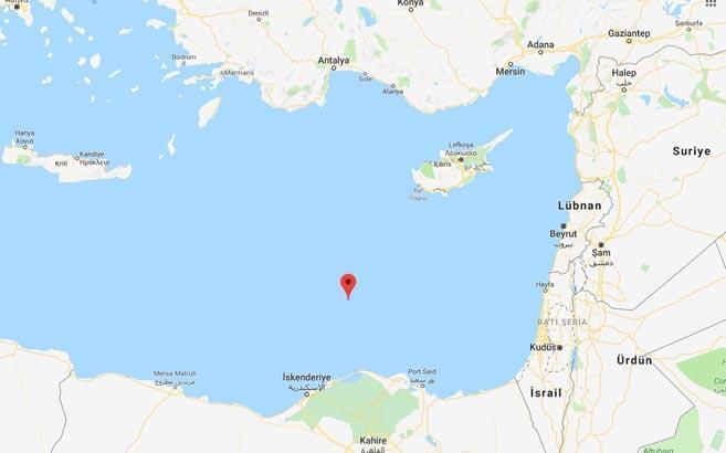 Son dakika: Akdenizde korkutan deprem