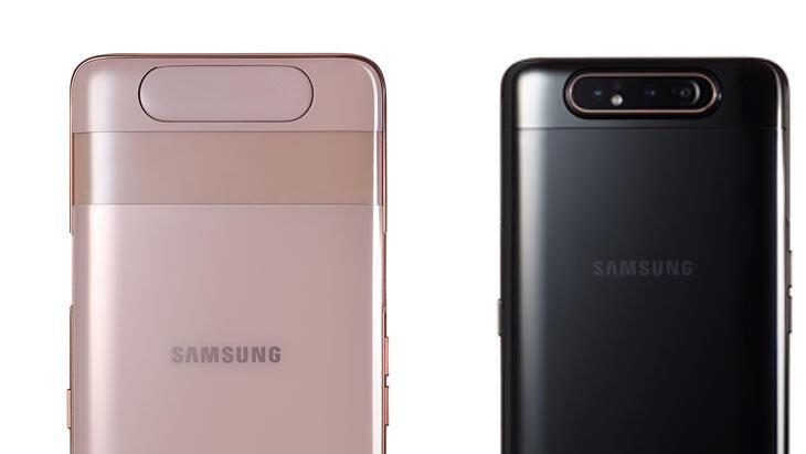 Samsung Galaxy A80 dönebilir 3lü kamera ile geliyor: İşte fiyatı