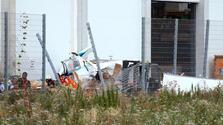 Almanya'da uçak düştü! 3 ölü