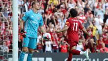 Arsenal, Salah'ı durduramadı! Gol yağmuru...