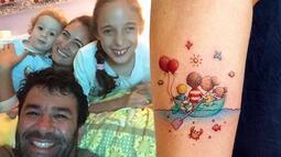 Ceyda Düvenci ailesini koluna kazıttı