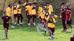 Galatasaray'ın Avusturya kampı sürüyor