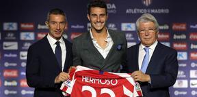 Atletico Madrid, Hermoso ile 5 yıllık sözleşme imzaladı