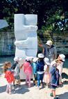 Ereğli sahiline barış heykelleri