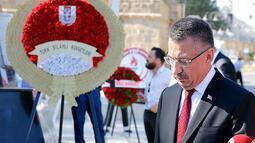 Fuat Oktay: Kıbrıs Barış Harekatı'nın 45. yılında sizi bir kez daha saygı ile anıyoruz