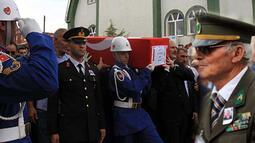 Şehit Binbaşı Zafer Akkuş'a son görev