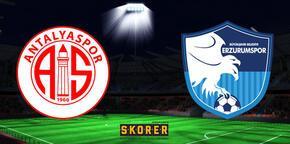 Antalyaspor-BB Erzurumspor: 1-1