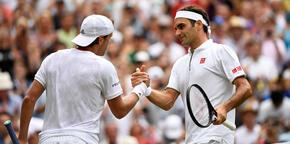 Roger Federer ile Rafael Nadal dördüncü tura çıktı