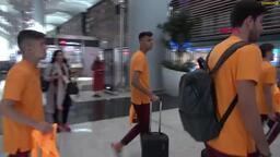 Galatasaray'ın kamp yolculuğu başladı
