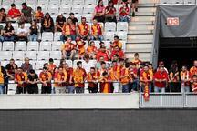 Leipzig-Galatasaray maçından objektiflere yansıyanlar