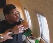 Maradona'dan ilginç challange!