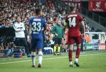 Liverpool - Chelsea Süper Kupa maçından kareler!