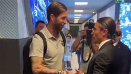 Nusret, Ramos ve Marcelo ile beraber!