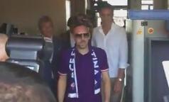 Franck Ribery'ye Fiorentina'da coşkulu karşılama!