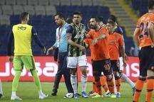 Başakşehir - Fenerbahçe maçında gerginlik!