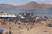 Türkiye'nin en yüksek rakımlı Balık Gölü'nde bir ilk