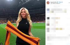 Victoria Lopyreva'dan Galatasaray sürprizi!