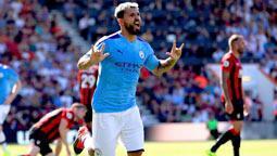 M.City 3 puanı 3 golle aldı! Agüero '400' oldu...