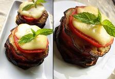 Fırında kaşarlı patlıcan tarifi