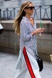 Sokak modasında çizgiler çizgilere karşı