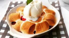Fırında çilekli marshmallow tarifi