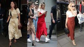 2019 yazının vazgeçilmez trendi: Saten elbiseler